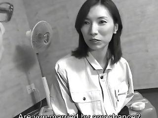 Subtitled mature Japanese woman blue collar sex boss