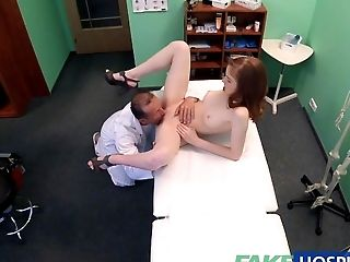 FakeHospital Petite hot Russian teen gets pussy licked and fucked by doctor