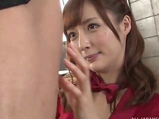 Cute Kaede Fuyutsuki is in need of an erected love tool