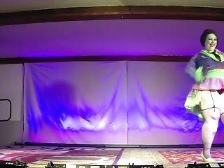 Burlesque Strip SHOW 83 Katherine Lashe SLO Tease