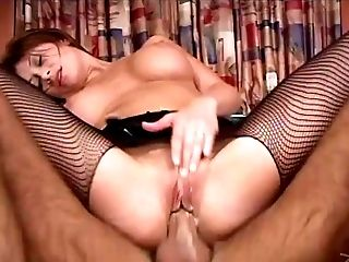 Will the sexy Lisa Daniels be able to handle the doggy style ramming?