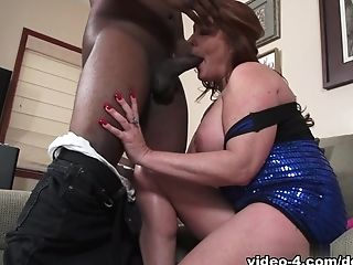 Incredible pornstar Kate Faucett in Crazy Redhead, Interracial porn scene