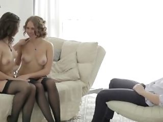 Young Anal Tryouts - Maia and her hot young friend