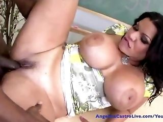 Angelina Castro gets fucked by Prince Big cock!