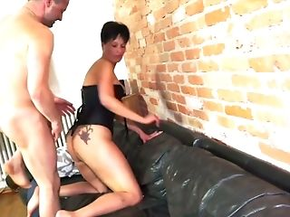 Kinky Doro undresses as she thirsts to be fucked doggy by her Dresden BF