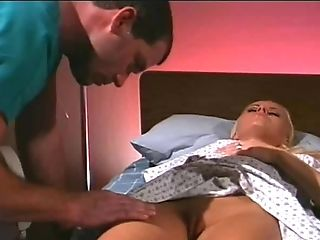 Raylene is a hot patient who wants to feel a doctor's cock