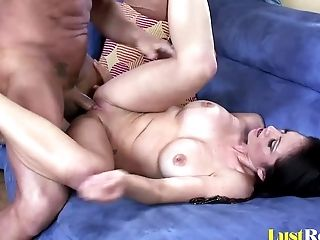 Amazing, Ass, Big Tits, Blowjob, Bobcat, Bra, Clamp, Close Up, Couple, Cute,