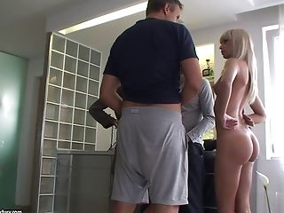 Gorgeous blonde Erica Fontes is naked and ready for action