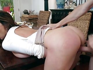 Kendra Lust takes young boy's large dong for a few xxx spins