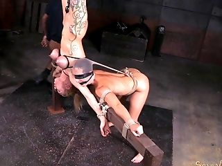 Wenona and Rain DeGrey going through the worst BDSM torture ever!