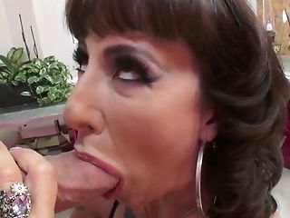 Sex-hungry chick Dollie Darko takes a huge dick in her crazy anal hole