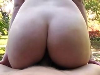 Teen Kobi Brian sucks and fucks in the park