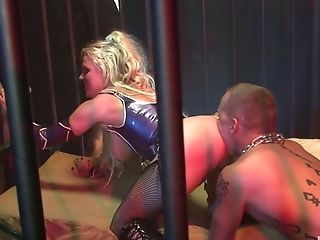 Most appealing blonde prisoner getting dicked like never before