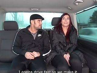 redhead MILF babe Jessica gets a cumshot on her big round firm ass