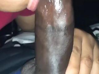I give him head, he makes me cum