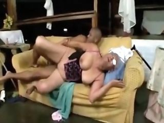Old Woman Young Cock