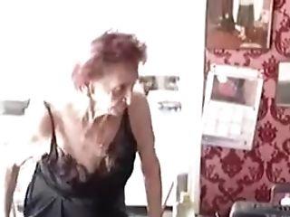 Amateur, BBW, Fetish, Granny, Lingerie, Redhead, Solo, Stockings,