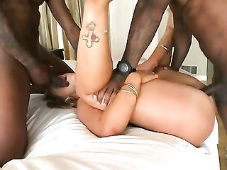 Rico Strong is one hard-dicked dude who loves oral sex with Blonde Briella Bounce with bubbly bottom and hairless cunt