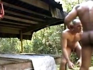 Hunk Beefy Gays Fuck Each Other After Hiking
